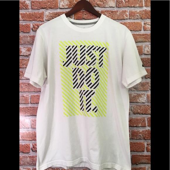 Nike Shirts Just Do It Neon Air Max 95 Tee L Poshmark